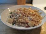 Bay Scallop and Shrimp Thin Spaghetti Pasta013