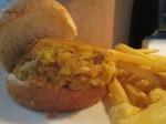 Crab Cake Sliders Baked Fries006