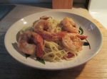 Shrimp Pasta Roni – Angel Hair Pasta with Herbs and Garlic Oval022