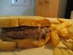 Buffalo Burger Pattie Melt Baked Crinkle Fries013