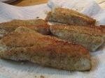 Fried Walleye Fillet Asparagus Bake Pot001