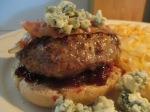 Bacon and Blue Buffalo Burger Blackberry Jam008