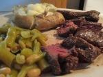 Cast Iron Skillet Buffalo Hanging Steak017