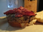 Pastrami and Swiss Buffalo Burger 006