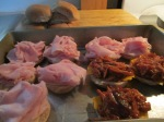 Baked Sliders – Ham and Swiss, Pulled Pork BBQ and Colby006