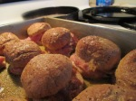 Baked Sliders – Ham and Swiss, Pulled Pork BBQ and Colby008