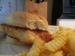 Panko Crusted Orange Roughy Fish Sandwich Ore Ida Fries014
