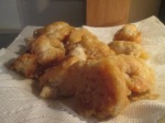 Freshwater Shrimp fried inbowl