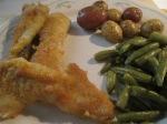 Catfish Nuggets Savory Herb Potatoes Green Beans008