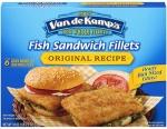 Van De Kamps Fish SandwichFillets