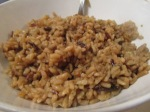 Brown and Wild Rice inbowl