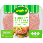 Jennie – O Lean Turkey Burger Patties 93% Lean