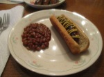 Turkey Brat Dogs and Beans1