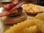 Ground Pork Burger Fries(3)