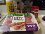 Panko Crusted Turkey Tenderloins and Fries(1)