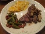 Tri Tip Steak Mushrooms Loaded Pot Cass Shellie Beans(6)