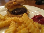 4 oz Buffalo Cheese Burger (3)