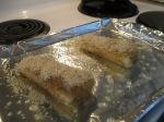 Almandine Crusted Cod Citrus Herb Marinated(3)